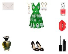 """""""Mouche"""" by rascaldiva ❤ liked on Polyvore featuring WithChic, FAIR+true, Verali, Nly Shoes, Topshop, Lime Crime and Marc Jacobs"""