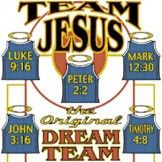 Christian T-shirt - Team Jesus Adult Tee Shirt Christian T-shirts Team Jesus cotton, preshrunk, high quality, heavyweight T-shirt Image size: Bible School Games, Bible School Crafts, Vacation Bible School, Lessons For Kids, Bible Lessons, Summer Bulletin Boards, Vbs Themes, Classroom Themes, Sunday School Classroom