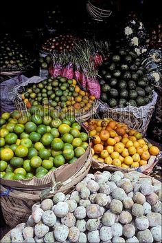 Brastagi Fruit Market, North Sumatera, Indonesia
