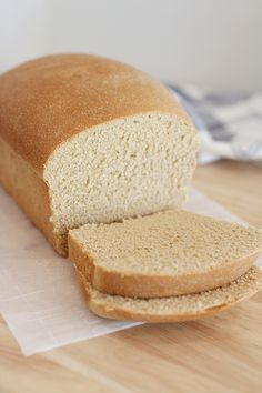 Soft, delicate White Whole Wheat Bread has the texture of bread made from refined flour, with the fiber and vitamins of a whole grain loaf. White Whole Wheat Bread Recipe, Dark Rye Bread Recipe, Wholemeal Bread Recipe, White Wheat Bread, Rye Bread Recipes, Honey Wheat Bread, Healthy Bread Recipes, 100 Whole Wheat Bread, Healthy Cooking