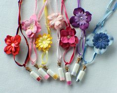 Ten Custom Mini Pixie Dust Necklaces by Market1 on Etsy