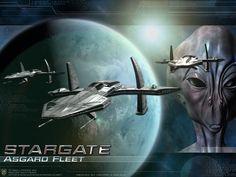 Asgard ship stargate spaceships -