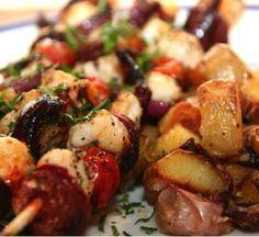 Monkfish and Chorizo