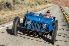 013 Jeep Flatfender Hot Rod Driving Photo 102333547