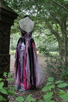 Dream Bohemian Fantasy Steampunk Vampire Goth by DreamBohemian Steampunk Witch, Mode Steampunk, Witch Wedding, Gothic Wedding, Gold Wedding, Vintage Gowns, Vintage Lace, Hecate Goddess, Moon Goddess