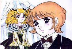 Yumiko Igarashi, Candy Candy, Anthony Brown, Candice White Ardlay