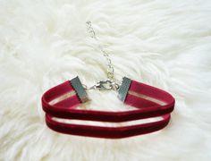 Double Trouble Velvet Bracelet