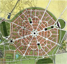Berlage's expansion plan for the Hague