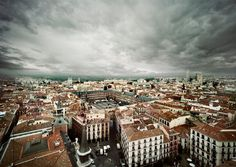 Skyline Madrid Spain, Plaza Mayor