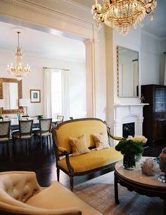 Eclectically elegant living room inspiration
