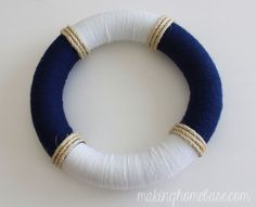 Hello Summer! Summer Nautical Wreath | Making Home Base.com