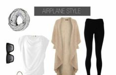 Love the white shirt (if not see through) Easy Airport Style Essentials. What to wear for women when traveling, and on the plane. Flying outfit for women. Travel Wear, Travel Outfit Summer, Travel Fashion, Travel Style, Travel Packing, Travel Boots, Airport Travel Outfits, Travel Chic, Packing Tips