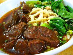 台南美食‧老饕川味牛肉麵 From大台灣旅遊網