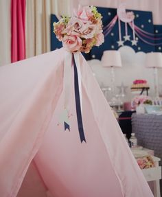 Tents at a Sleepover Party #sleepover #tents