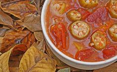 Okra Soup #veggies #healthyfood