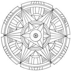 Mandala Painting, Mandala Drawing, Dot Painting, Mandala Doodle, Mandala Art, Mandala Coloring Pages, Coloring Book Pages, Colouring Pics, Colouring Sheets