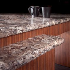 With the past decade's countertop trend leaning heavily on granite and solid surface materials, many have forgotten about the economical and DIY- friendly laminate countertop so popular for so many years. Laminate has made a tremendous leap forward in design, with patterns and colors now available that closely resemble more expensive materials like travertine, granite, butcher block, and even stainless steel. Wilsonart and Formica are long-time and reputable manufacturers with huge…