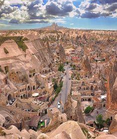 Old shaped beautiful City Cappadocia, Turkey l Places to visit l Travel destination l Tourism Beautiful Places To Visit, Wonderful Places, Amazing Places, Amazing Photos, Places To Travel, Places To See, Time Travel, Turkey Photos, Cappadocia Turkey
