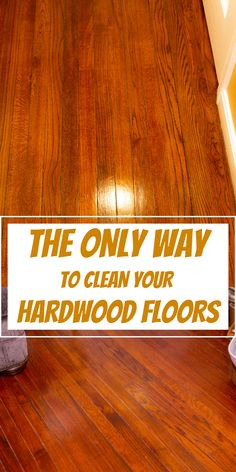 If you have hardwood floors at home and you need to keep them looking brand new, then go no further. This article will show you how to clean it and take care of them. #cleaning #cleaninghacks #householdhacks #cleaningtips #householdtips