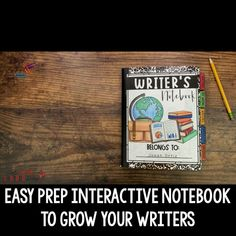 Grow your writers with this interactive notebook perfect for 3-5th grade! This notebook is perfect to use all year long! You'll find expository, narrative and more writing genres! Perfect for 3rd grade, 4th grade and homeschooling! #writingprompts #writingworkshop