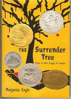 The Surrender Tree by Margarita Engle. This book is a Pura Belpre' Award Recipient as well as a Newbery Honor Book! This book is also a collection of poetry. It is about Cuba's Struggle for Freedom! This book is interesting and definitely provides insight into different cultures! This would be a wonderful book for middle schoolers to read!