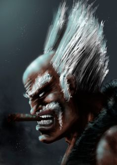 Fan art of a tekken´s character: Heihachi Made with ps, trying new brushes There will be more! Tekken 7, Soul Calibur, Retro Games, Fighting Games, Iron Fist, Game Art, Jon Snow, Artworks, Legends