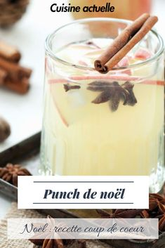 Holiday Recipes 23739 A special cocktail for the holidays and getting in the Christmas mood cooking # ideenoel # aperitif Fruity Cocktails, Cocktail Desserts, Holiday Cocktails, Cocktail Recipes, Coffee Milkshake, Christmas Punch, Christmas Mood, Christmas Sangria, Noel Christmas