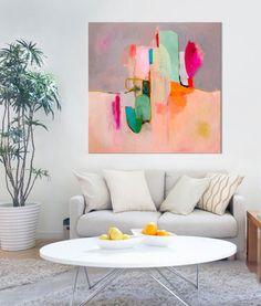 GICLEE PRINT Abstract Painting Acrylic Painting by SarinaDiakosArt
