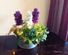 VillaTuta: Käpyhyasintit Koti, Xmas, Christmas, Holidays And Events, Glass Vase, Plants, Home Decor, Pine, Crafting