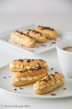 Tiramisu Eclairs- two delicious flavors in one, irresistibly light and exquisite!
