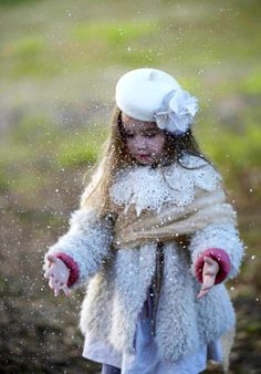 Après la neige. Couture beret.
