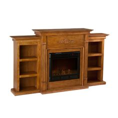 Found it at Wayfair - Franklin Electric Fireplace in Glazed Pine http://www.wayfair.com/daily-sales/p/Lodge-Inspired-Living-Room-Franklin-Electric-Fireplace-in-Glazed-Pine~JIY7803~E16601.html?refid=SBP.rBAZEVOeTYIBv1WjjSrpAoEo5pr6K0a1q-mv3Yby8Kg