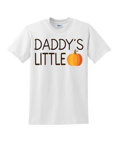 Look at this Love you a Latte White 'Daddy's Little Pumpkin' Tee - Kids on #zulily today!