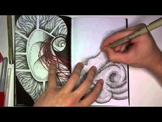 Realtime version of Drawing in my Book #22b - YouTube