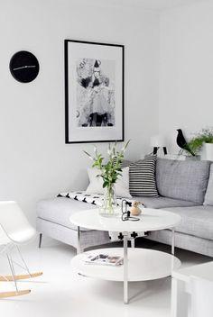 30 Wonderful Nordic Living Room Design Ideas - Page 8 of 30 Nordic Living Room, Scandinavian Living, My Living Room, Home And Living, Living Room Decor, Living Area, Cozy Living, Minimalist Scandinavian, Living Room Inspiration