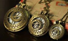 Medium Size Pocket Watch with free Necklace Chain  3 by ministore, $4.90