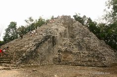 (Cobá in the Spanish language) is a large ruined city of the Pre-Columbian Maya civilization, located in the state of Quintana Roo, Mexico.