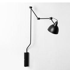 Nástěnná lampa COBEN WALL 1 - černá Nordic Decoration Home