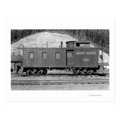 Union Pacific Railroad, Stock Art, Train Car, Wood And Metal, Framed Art Prints, Washington, Trains, Cars, Metal Signs