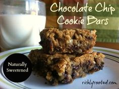 Chocolate Chip Cookie Bars - RichlyRooted.com