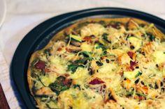 The 365 Recipe Project: February 11th, Pizza: Chicken Pesto Pizza