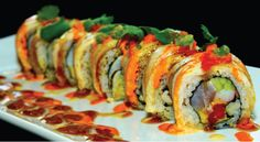 Our Torched Hamachi Roll #Tampa #USF #Sushi