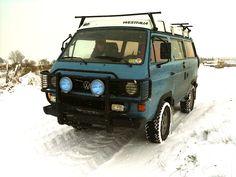 VW T3 - winterwonderland