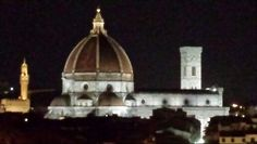 View from Luxury penthouse Accademia in Florence for Rent