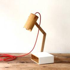 Lampe de chevet MIKOLO Blanc