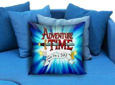 Adventure Time and Bacon Pancakes Pillow Case #pillowcase #pillow #cover #pillowcover #printed #modernpillowcase #decorative #throwpillowcase