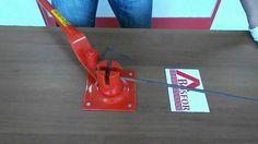 Ручной станок для гибки арматуры AFACAN Турция  14EC