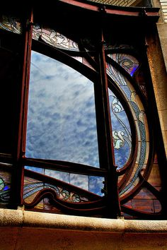 Art Nouveau window | JV