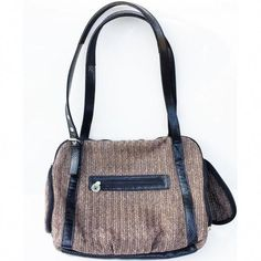 Doggie Diva offers upscale, luxury dog purse carriers in many styles and colors. If you're looking for the best designer dog purses online, check out our online boutique! Dog Carrier Purse, Dog Crate Furniture, Egg Crates, Dog Boutique, Pet Carriers, Foam Cushions, Dachshund, Messenger Bag, Chevron