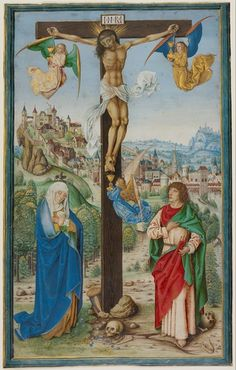 The Crucifixion, German, about 1475-1500